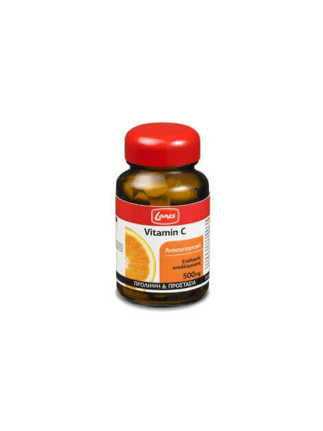 Lanes Vitamin C 500mg 30 tabs Red