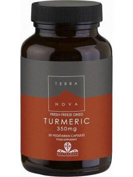 TerraNova Turmeric 350mg 50 κάψουλες