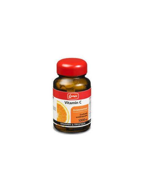Lanes Vitamin C 1000mg 30 ταμπλέτες