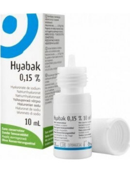 Thea Synapsis Hyabak Eye Solution 0.15% 10ml