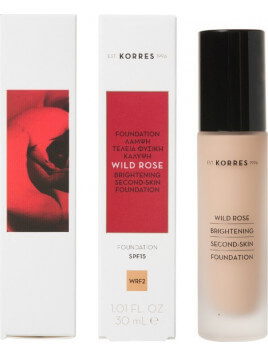 Korres Wild Rose Brightening Second-Skin Foundation SPF15 WRF2 30ml