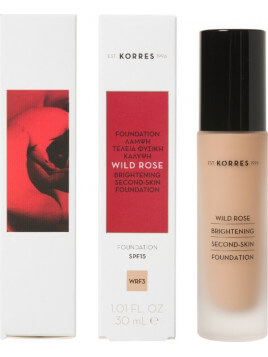 Korres Rose Brightening Second-Skin Foundation SPF15 WRF3 30ml
