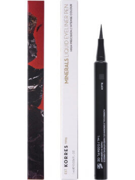 Korres Liquid Eyeliner Pen Black 01