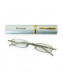 Vitorgan EyeLead Pocket Γυαλιά Πρεσβυωπίας Τσέπης Χρώματος Ασημί Bαθμός 1.00 1τμχ