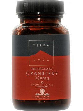 TerraNova Cranberry Fresh Freezed Dried 300mg 50 tabs