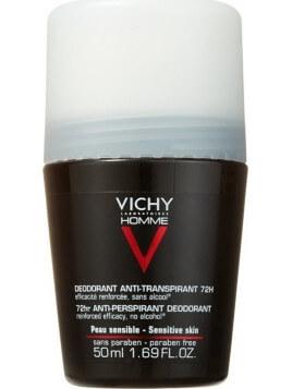Vichy Homme Deodorant Anti-Transpirant Roll-On 72h 50ml