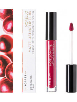 Korres Morello Matte Lasting Lip Fluid 74 Fig