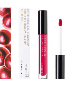 Korres Morello Matte Lasting Lip Fluid 29 Strawberry Kiss