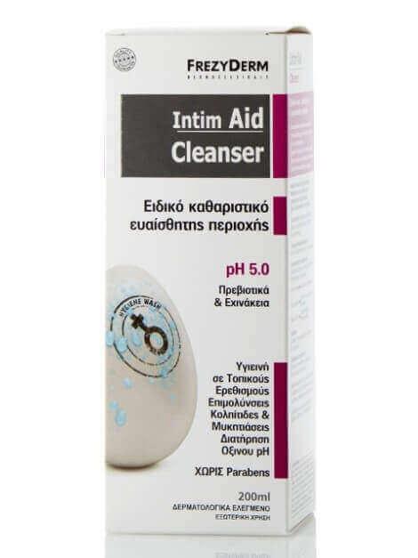 Frezyderm Intim Aid Cleanser pH5 Με Πρεβιοτικά & Εχινάκεια 200ml
