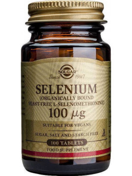 Solgar Selenium 100μg 100 ταμπλέτες