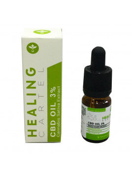 Healing Cartel 3% CBD Oil 300mg 10ml