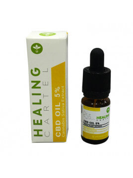 Healing Cartel 5% CBD Oil 500mg 10ml