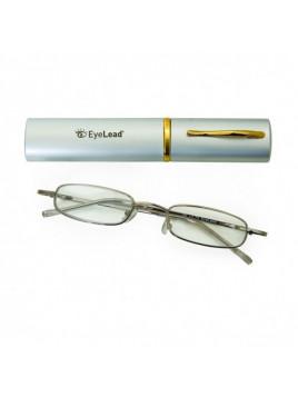 Vitorgan EyeLead Pocket Γυαλιά Πρεσβυωπίας Τσέπης E1298 Χρώματος Ασημί Bαθμός 3.50 1τμχ