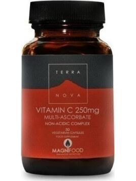 TerraNova Vitamin C 250mg 50 φυτικές κάψουλες
