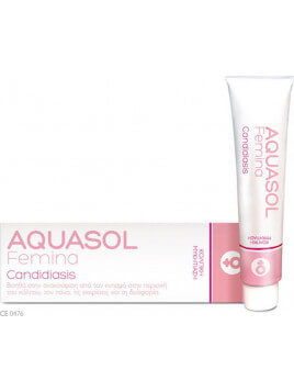 Olvos Science Aquasol Femina Candidiasis Cream Gel 30ml