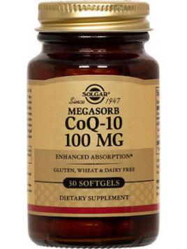 Solgar Vegeterian CoQ-10 100mg 30 μαλακές κάψουλες