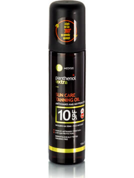 Medisei Panthenol Extra Sun Care Tanning Oil SPF10 150ml