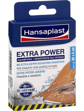 Hansaplast Extra Power Waterproof 80x6cm 8τμχ