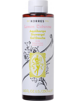 Korres Lemon Tuberose Shower Gel 250ml