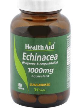 Health Aid Echinacea 1000mg 60 ταμπλέτες