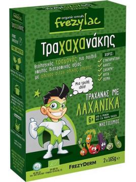 Frezyderm Βρεφικό Γεύμα Frezylac Τραχαχάνακης Τραχάνας με Λαχανικά 6m+ 330gr