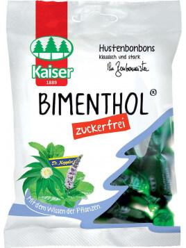 Kaiser 1889 Bimenthol - Μέντα & Ευκάλυπτος Καραμέλες για το Βήχα & τον Πονόλαιμο 60gr