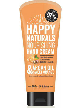 Happy Naturals Argan Oil & Sweet Orange Hand Cream 100ml