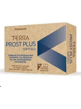 Genecom Terra Prost Plus 30 μαλακές κάψουλες