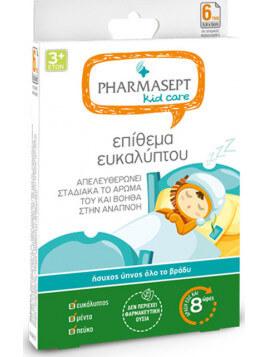 Pharmasept Kid Care Επιθέματα Ευκαλύπτου 6τμχ