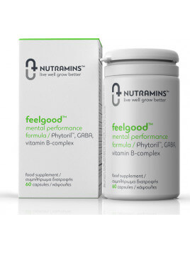 Nutramins Feelgood Mental Performance Formula 60 Κάψουλες