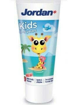 Jordan Παιδική Οδοντόκρεμα 0-5 ετών Καμηλοπάρδαλη 50ml