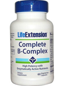 Life Extension Complete B-Complex 60 φυτικές κάψουλες