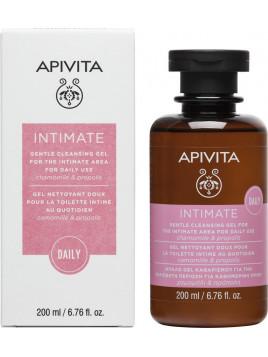 Apivita Intimate Daily Απαλό Gel Καθαρισμού της Ευαίσθητης Περιοχής με χαμομήλι & πρόπολη 200ml