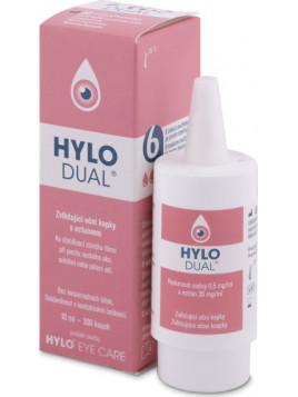 Ursapharm Hylo Dual Οφθαλμικές Σταγόνες με Υαλουρονικό Οξύ για Ξηροφθαλμία 10ml