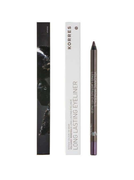 Korres Pencil Long-Lasting Black Volcanic Minerals 04 Purple 1.2g