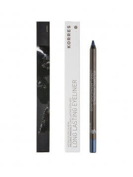 Korres Pencil Long-Lasting Black Volcanic Minerals 08 Blu 1.2g