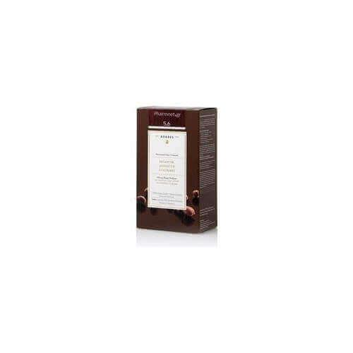 Korres Argan Oil Adnanced Colorant 5.6 Καστανό Ανοιχτό Κόκκινο