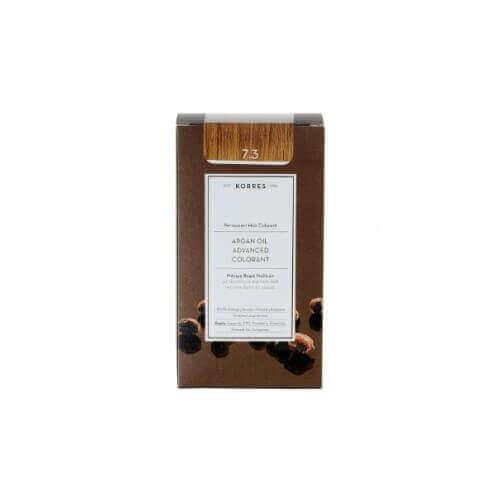 Korres Argan Oil Advanced Colorant 7.3 Ξανθό Μελί