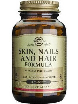 Solgar Skin Nails and Hair 60 tabs