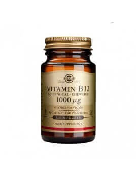 Solgar Vitamin B-12 1000μg 100 υπογλώσσια δισκία