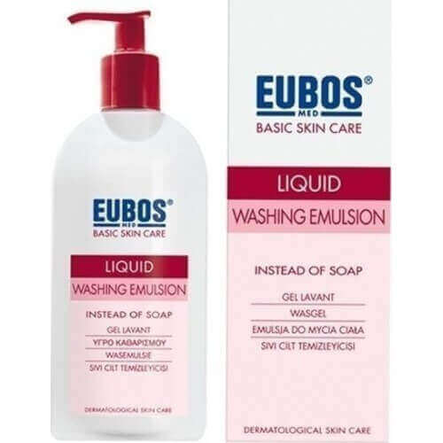 Eubos Red Liquid Washing Emulsion 400ml