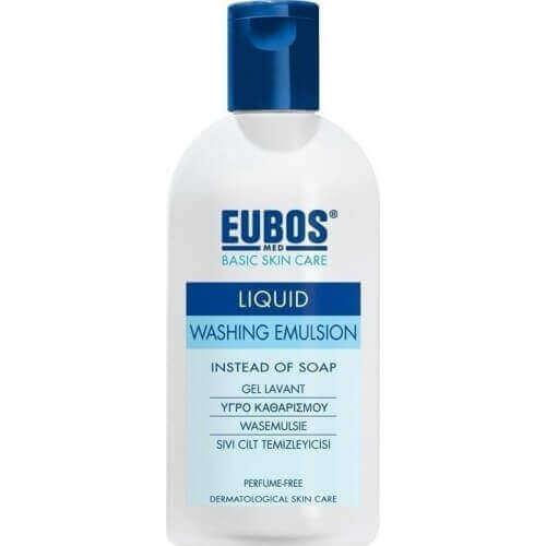Eubos Blue Liquid Washing Emulsion 200ml
